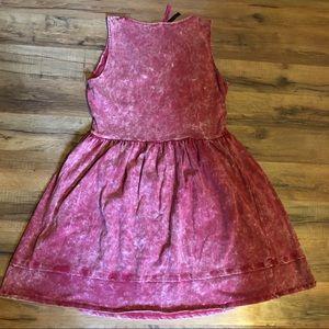 Boohoo Dresses - Boohoo Acid Wash summer dress size 8